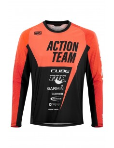 Maillot Action Team Manches Longues